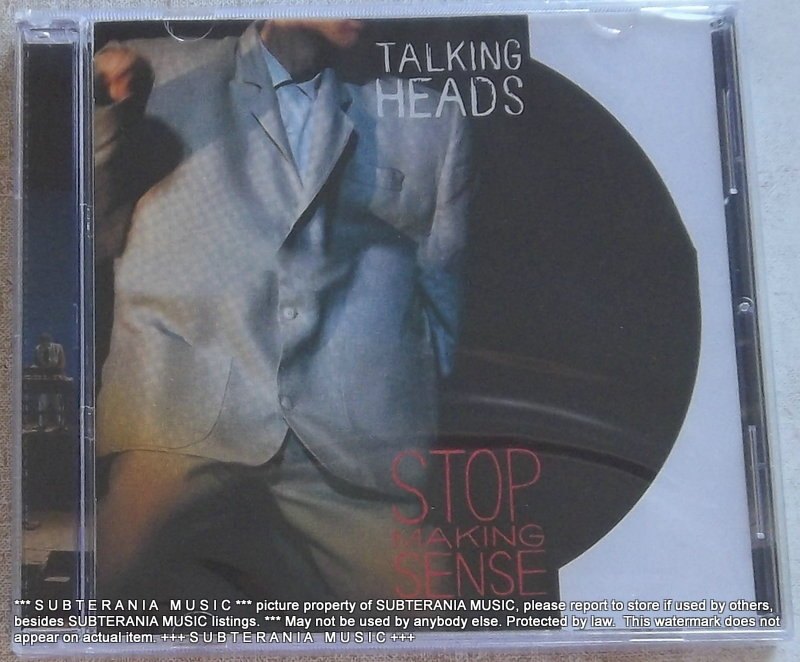 talking heads stop making sense special edition south africa cat  072435 224532