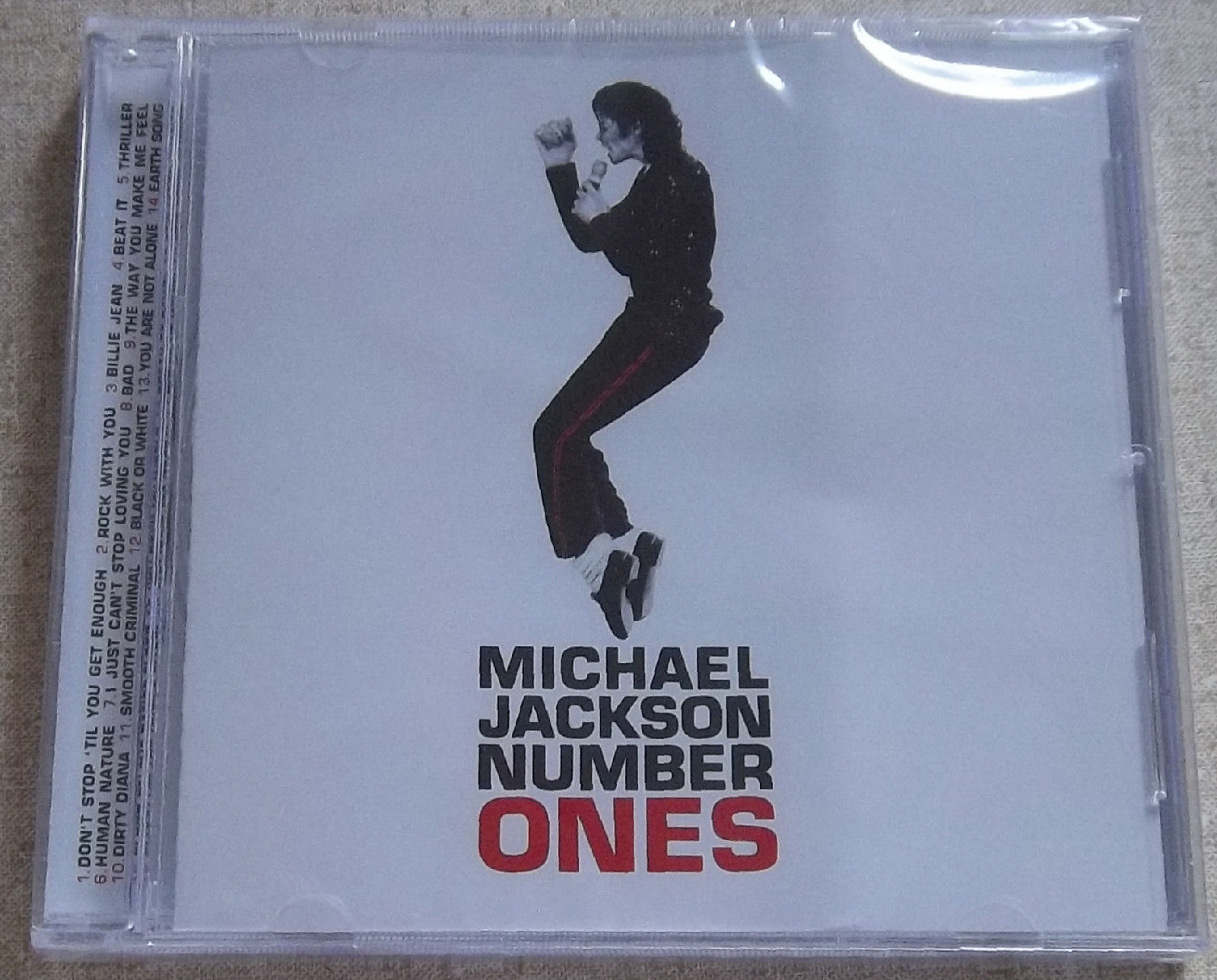 Michael Jackson Number Ones South Africa Cat Cdepc6735