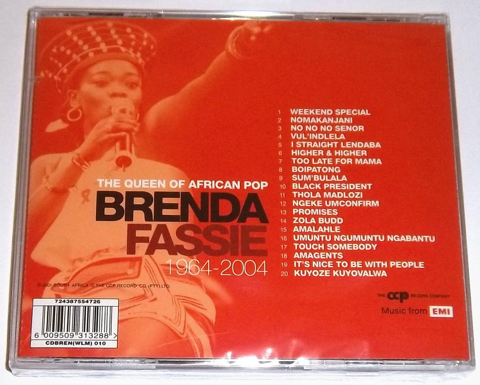 BRENDA FASSIE Greatest Hits 1964-2004 SOUTH AFRICA Cat# CDBREN010