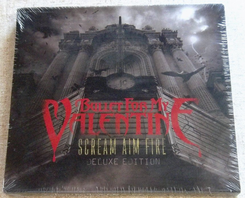 Toll BULLET FOR MY VALENTINE Scream Aim Fire Deluxe Edition CD+DVD SOUTH AFRICA  Cat# CDZOM2128