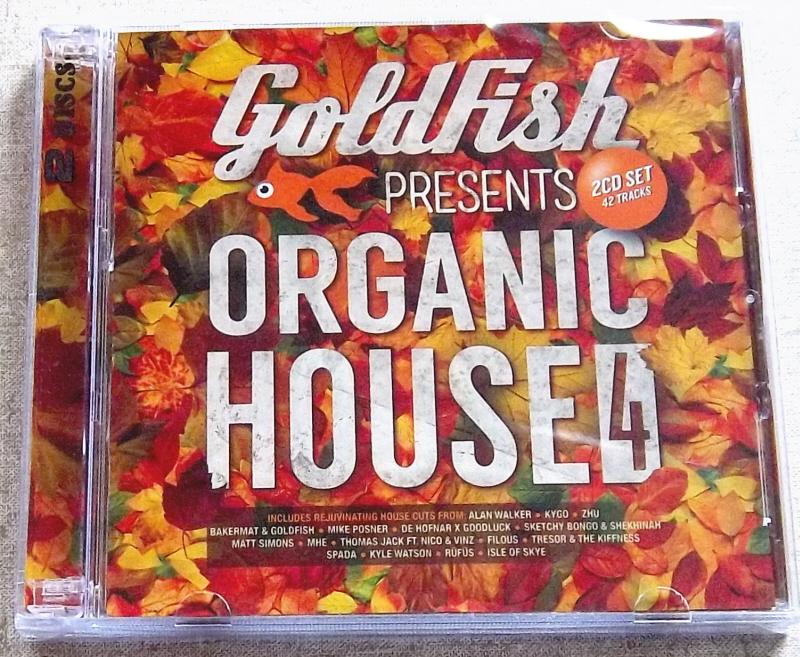 GOLDFISH Present Organic House 4 SOUTH AFRICA Cat# CDBSP3353